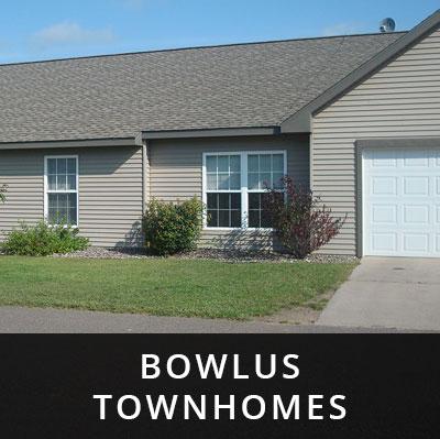 Bowlus Townhomes for rent Bowlus MN
