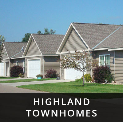 Highland Townhomes for rent Glenwood MN