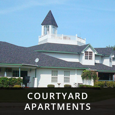 Courtyard Apartments for rent Little Falls MN