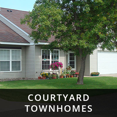 Courtyard Townhomes for rent Little Falls MN