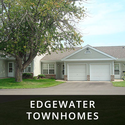 Edgewater Townhomes for rent Little Falls MN
