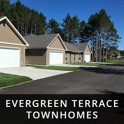 Evergreen Terrace Townhomes for rent Little Falls MN