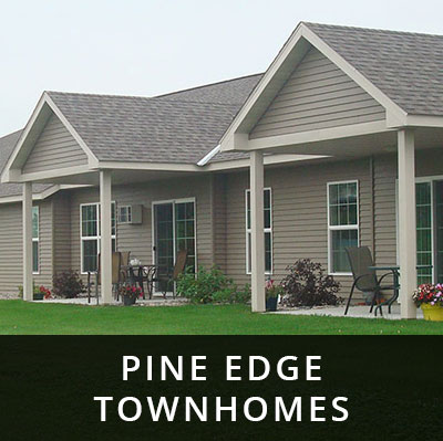 Pine Edge Townhomes for rent Perham MN