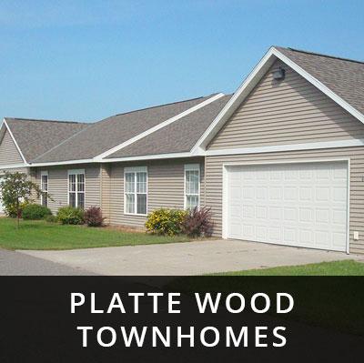 Platte Wood Townhomes for rent Royalton MN