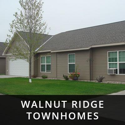 Walnut Ridge Townhomes for rent Upsala MN
