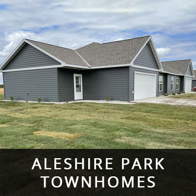 Aleshire Park Townhomes for rent Perham MN